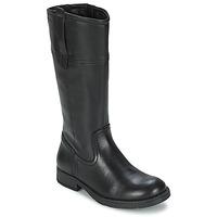 Παπούτσια Κορίτσι Μπότες για την πόλη Geox SOFIA B Black