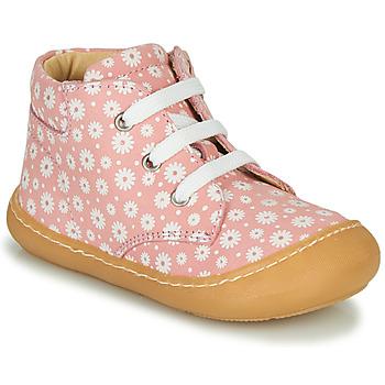 Παπούτσια Κορίτσι Ψηλά Sneakers GBB ATARINA Ροζ