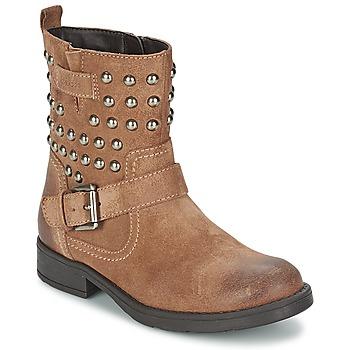 Παπούτσια Κορίτσι Μπότες για την πόλη Geox SOFIA C Brown