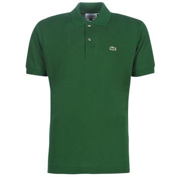 Υφασμάτινα Άνδρας Πόλο με κοντά μανίκια  Lacoste POLO L12 12 REGULAR Green