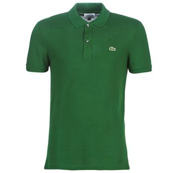 Υφασμάτινα Άνδρας Πόλο με κοντά μανίκια  Lacoste PH4012 SLIM Green