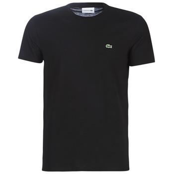 Υφασμάτινα Άνδρας T-shirt με κοντά μανίκια Lacoste TH6709 Black