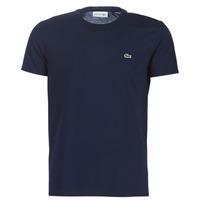 Υφασμάτινα Άνδρας T-shirt με κοντά μανίκια Lacoste TH6709 Marine