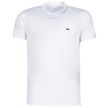 Υφασμάτινα Άνδρας T-shirt με κοντά μανίκια Lacoste TH6709 Άσπρο