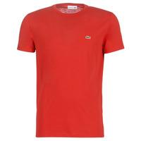 Υφασμάτινα Άνδρας T-shirt με κοντά μανίκια Lacoste TH6709 Red