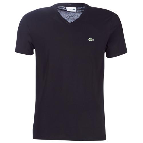 Υφασμάτινα Άνδρας T-shirt με κοντά μανίκια Lacoste TH6710 Black