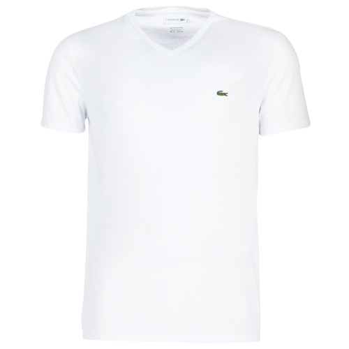 Υφασμάτινα Άνδρας T-shirt με κοντά μανίκια Lacoste TH6710 Άσπρο