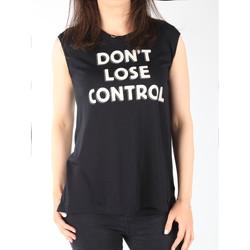 Υφασμάτινα Γυναίκα Αμάνικα / T-shirts χωρίς μανίκια Lee T-shirt  Muscle Tank Black L42CPB01 black