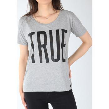 Υφασμάτινα Γυναίκα T-shirt με κοντά μανίκια Lee T-shirt  Ultimate Tee L42JEP37 grey