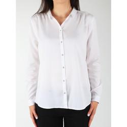 Υφασμάτινα Γυναίκα Πουκάμισα Wrangler L/S Relaxed Shirt W5190BD12 white