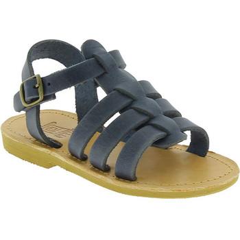 Παπούτσια Αγόρι Σανδάλια / Πέδιλα Attica Sandals PERSEPHONE NUBUCK BLUE blu