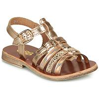 Παπούτσια Κορίτσι Σανδάλια / Πέδιλα GBB BANGKOK Ροζ / Χρυσο