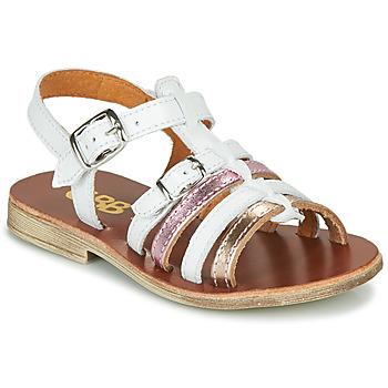 Παπούτσια Κορίτσι Σανδάλια / Πέδιλα GBB BANGKOK Άσπρο