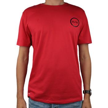 Υφασμάτινα Άνδρας T-shirt με κοντά μανίκια Nike Dry Elite BBall Tee Rouge