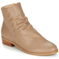 Παπούτσια Γυναίκα Μπότες André ELIPSE Camel