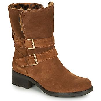 Παπούτσια Γυναίκα Μπότες André MAJOLIE Camel