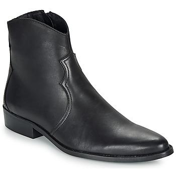 Παπούτσια Άνδρας Μπότες André WESTERN Black