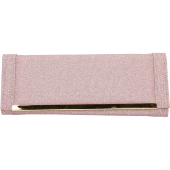 Τσάντες Γυναίκα Pouch / Clutch Made In Italia AB990 Ροζ