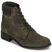 Παπούτσια Γυναίκα Μπότες André GODILLETTE Kaki