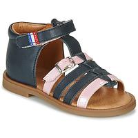 Παπούτσια Κορίτσι Σανδάλια / Πέδιλα GBB GUINGUETTE Marine / Ροζ