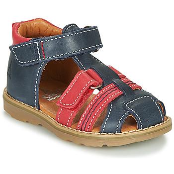 Παπούτσια Αγόρι Σανδάλια / Πέδιλα GBB MACARON Marine / Red