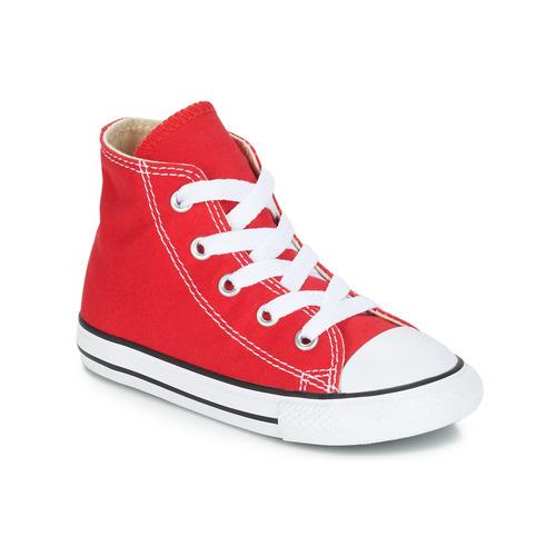 Παπούτσια Παιδί Ψηλά Sneakers Converse CHUCK TAYLOR ALL STAR CORE HI Red