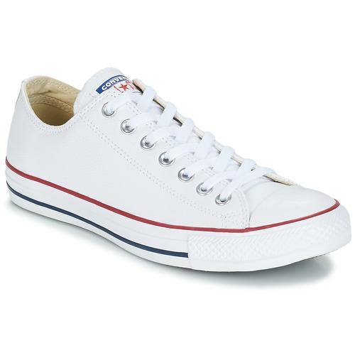 Παπούτσια Χαμηλά Sneakers Converse Chuck Taylor All Star CORE LEATHER OX Άσπρο