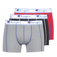 Εσώρουχα Άνδρας Boxer Champion BOXER UNIS PACK DE 3 Red / Grey / Black