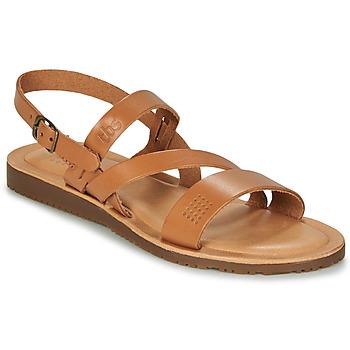 Παπούτσια Γυναίκα Σανδάλια / Πέδιλα TBS BEATTYS Cognac