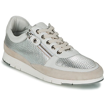 Παπούτσια Γυναίκα Χαμηλά Sneakers TBS CAVANNA Argenté / Beige