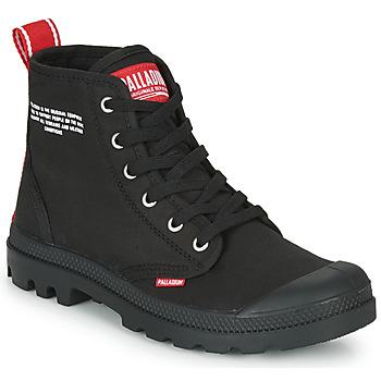 Παπούτσια Μπότες Palladium PAMPA HI DU C Black