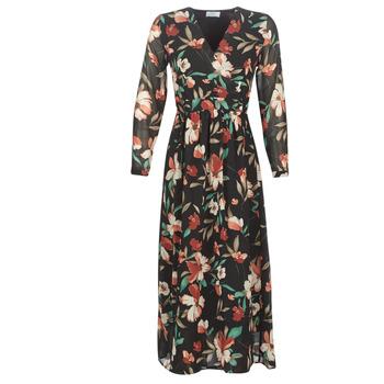Υφασμάτινα Γυναίκα Μακριά Φορέματα Betty London LIMBA Black / Multicolore