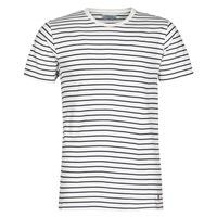 Υφασμάτινα Άνδρας T-shirt με κοντά μανίκια Casual Attitude KINO Marine / Άσπρο
