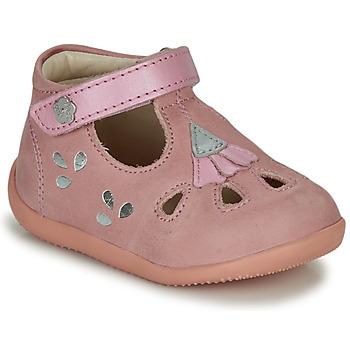 Παπούτσια Κορίτσι Σανδάλια / Πέδιλα Kickers BLUPINKY Ροζ / Silver