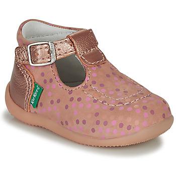 Παπούτσια Κορίτσι Σανδάλια / Πέδιλα Kickers BONBEK-3 Ροζ / Polka dot