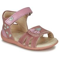 Παπούτσια Κορίτσι Σανδάλια / Πέδιλα Kickers BICHETTA Ροζ