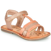 Παπούτσια Κορίτσι Σανδάλια / Πέδιλα Kickers DIAMANTO Ροζ / Orange
