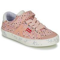 Παπούτσια Κορίτσι Χαμηλά Sneakers Kickers GODY Ροζ / Polka dot