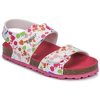 Παπούτσια Κορίτσι Σανδάλια / Πέδιλα Kickers SUMMERKRO Άσπρο / Multicolour
