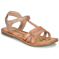 Παπούτσια Κορίτσι Σανδάλια / Πέδιλα Kickers DIAMANTO Orange / Ροζ