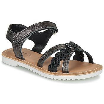 Παπούτσια Κορίτσι Σανδάλια / Πέδιλα Kickers SHARKKY Black