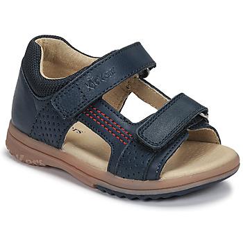 Παπούτσια Αγόρι Σανδάλια / Πέδιλα Kickers PLAZABI Marine