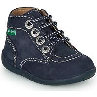 Παπούτσια Παιδί Μπότες Kickers BONZIP-3 Marine