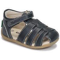 Παπούτσια Αγόρι Σανδάλια / Πέδιλα Kickers BIGFLO-3 Marine