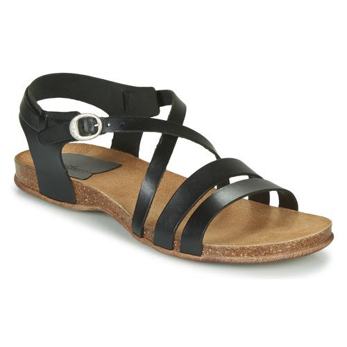 Παπούτσια Γυναίκα Σανδάλια / Πέδιλα Kickers ANATOMIUM Black