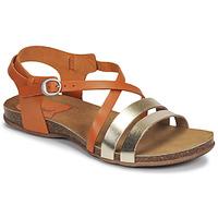 Παπούτσια Γυναίκα Σανδάλια / Πέδιλα Kickers ANATOMIUM Camel / Gold