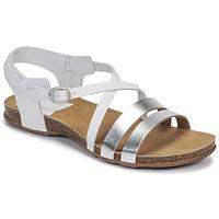 Παπούτσια Γυναίκα Σανδάλια / Πέδιλα Kickers ANATOMIUM Άσπρο / Argenté