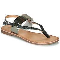 Παπούτσια Γυναίκα Σανδάλια / Πέδιλα Kickers ESTHERA Black / Silver