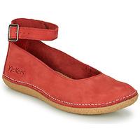Παπούτσια Γυναίκα Μπαλαρίνες Kickers HONNORA Red