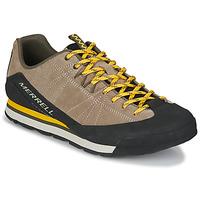Παπούτσια Άνδρας Χαμηλά Sneakers Merrell CATALYST SUEDE Beige / Black